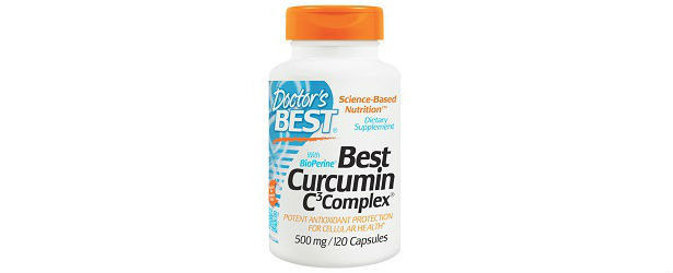 Best Curcumin C3 Complex Doctor's Best Review