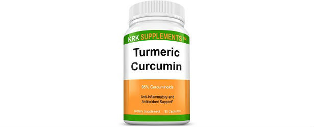 KRK Supplements Turmeric Curcumin Review
