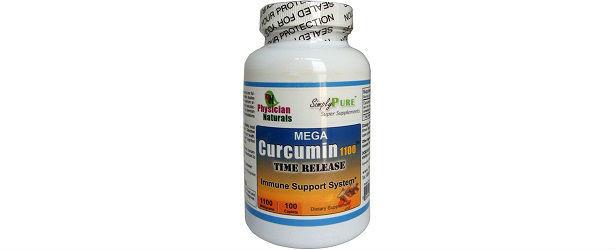 Mega Curcumin 1100 Time Release Physician Naturals Review