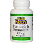 Natural Factors Turmeric & Bromelain Review615