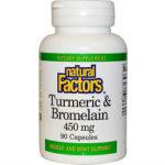 Natural Factors Turmeric & Bromelain Review615
