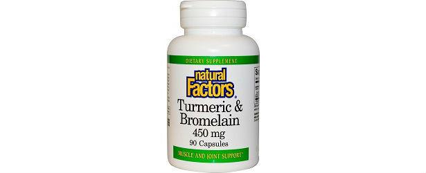 Natural Factors Turmeric & Bromelain Review