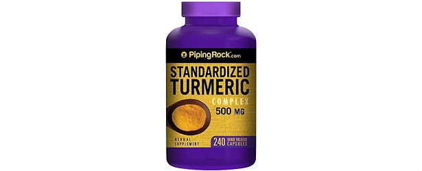 Piping Rock Standardized Turmeric Curcumin Complex Review