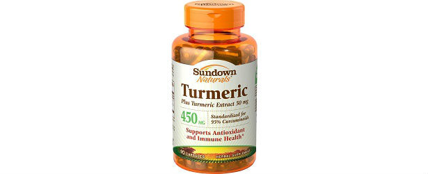 Sundown Naturals Turmeric Review