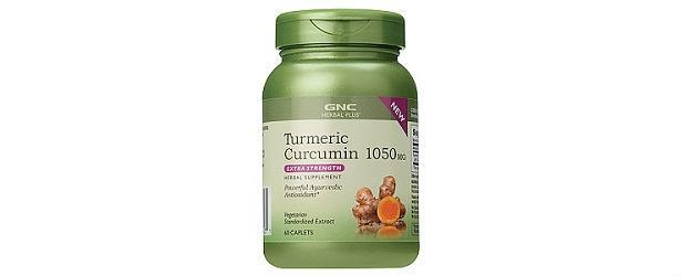 Turmeric Curcumin Extra Strength GNC Herbal Plus Review