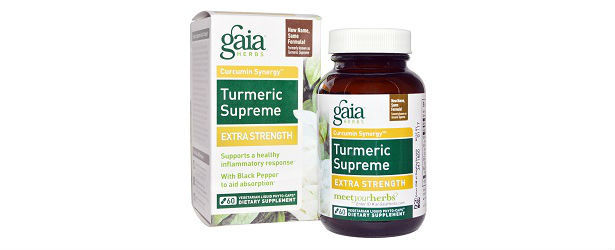 Turmeric Supreme Extra Strength Gaia Herbs Review