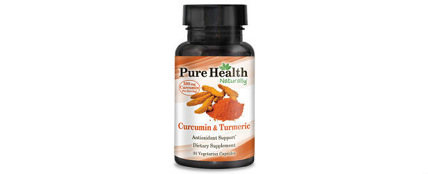 Pure Health Naturally Curcumin and Turmeric Review