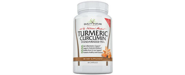 Quality Nature Supplements Turmeric Curcumin Review