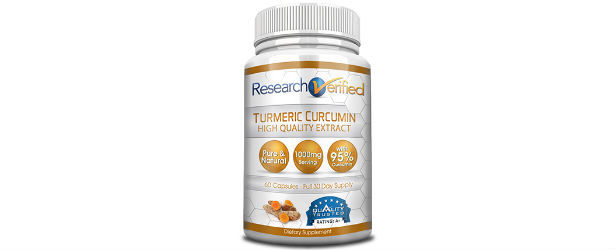 Research Verified Turmeric Curcumin Review
